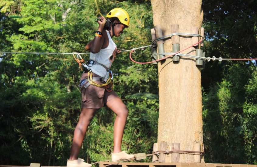 "The Ultimate ""Ninja Warrior"" Experience at A Lakeside Adventure Park"